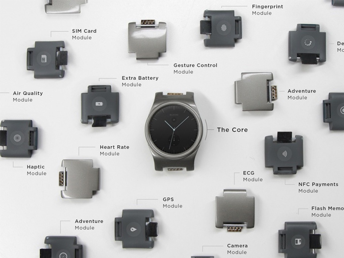 Модульные часы Blocks Modular Smartwatch