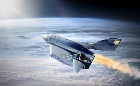 В космос с Virgin Galactic